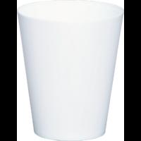 Cache pot réserve d'eau - Blanc