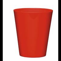 Cache pot réserve d'eau - Rouge