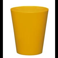 Cache pot réserve d'eau - Jaune