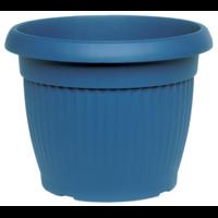 Pot de fleur - coloris bleu