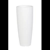 Pot de fleur design - coloris blanc