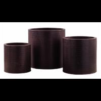 Cache Pot en Zinc - Coloris Cuivre