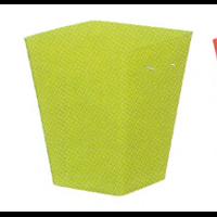 Cache pot carré réserve d'eau - Vert