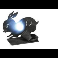 Déco éclairage solaire - lapin