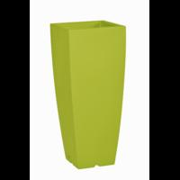 Pot de fleurs design - coloris vert