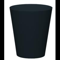 Cache pot réserve d'eau - Noir