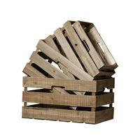 Caisses en bois - série de 4 pcs