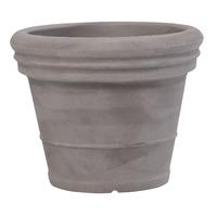 Pot imitation terre coloris pierre