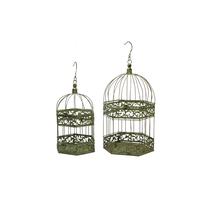 Cages à oiseaux décoratives en métal