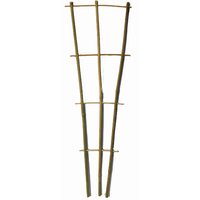 Lot de 5 supports échelle en bambou