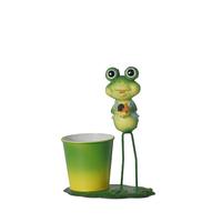 Contenant métal grenouille
