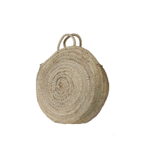 Cabas rond, panier forme ronde