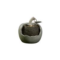 Fontaine en fibre de pierre forme pomme