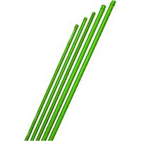 lot de 25 tuteurs en acier plastifié vert