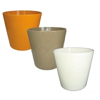 Lot de 3 pots en céramique