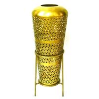 Lanterne décorative jardin en acier Inoxydable