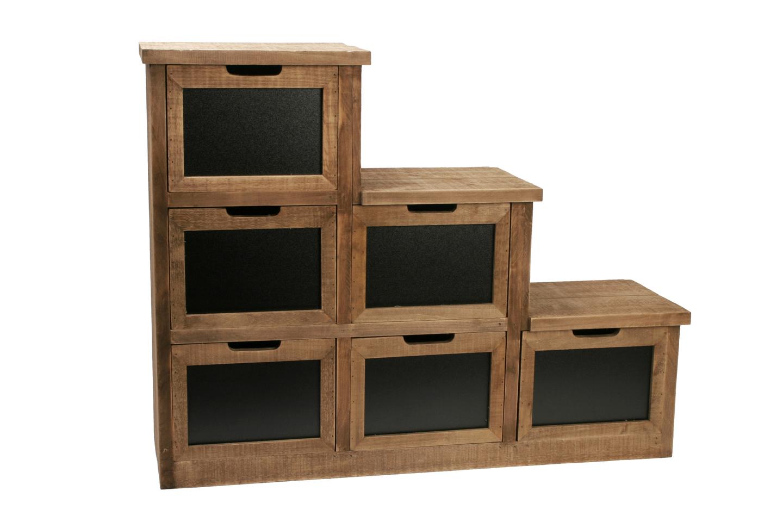 Meuble d co en bois d co d co bois boutique d coration - Deco meuble bois ...
