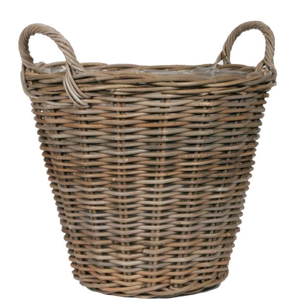 Cache pot rotin poterie cache pot osier boutique - Poterie decorative pour jardin ...