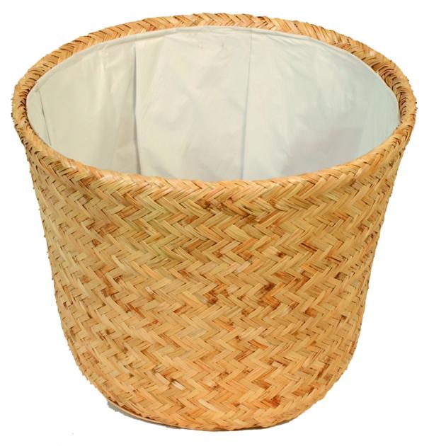 cache pot bamboo poterie cache pot osier boutique. Black Bedroom Furniture Sets. Home Design Ideas