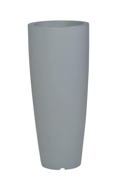 pot de fleur design coloris gris poterie pots de fleurs design d co boutique d coration. Black Bedroom Furniture Sets. Home Design Ideas