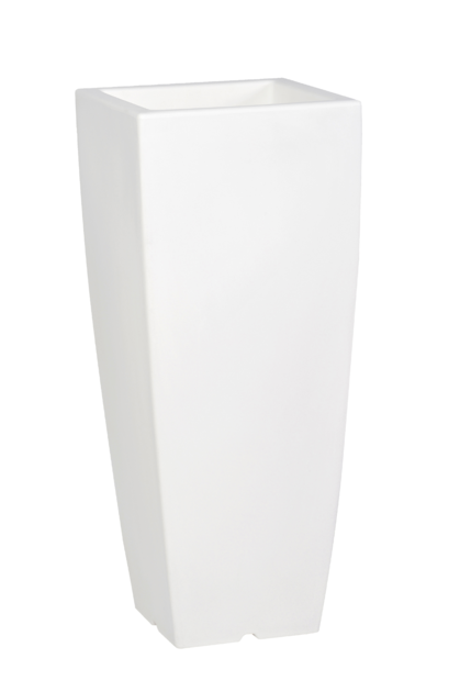 pot de fleurs design coloris blanc poterie pots de. Black Bedroom Furniture Sets. Home Design Ideas