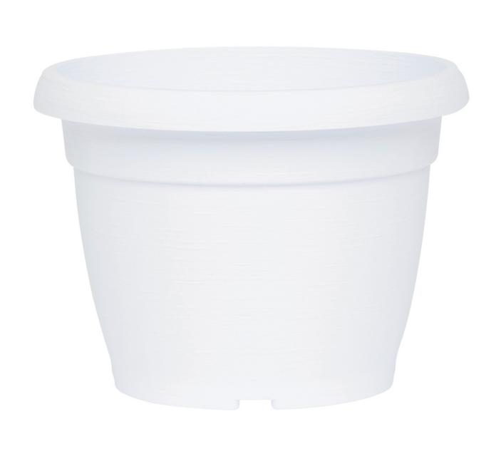 pot de fleurs blanc poterie pots de fleurs bacs. Black Bedroom Furniture Sets. Home Design Ideas