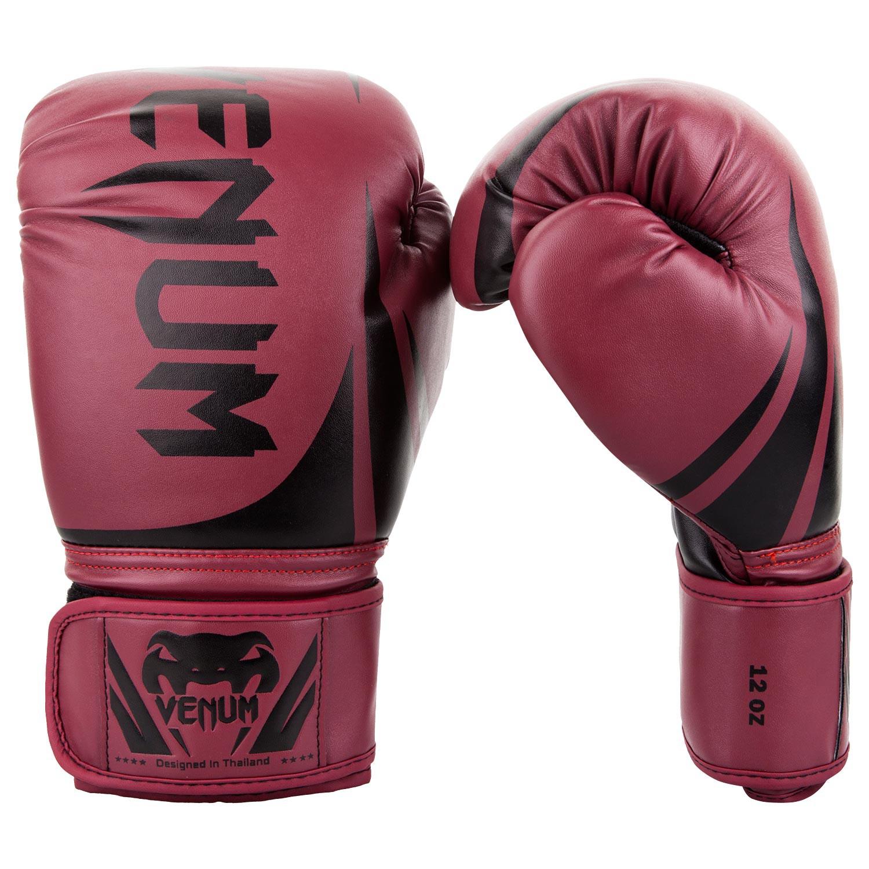 Gants de boxe Venum Challenger Bordeaux