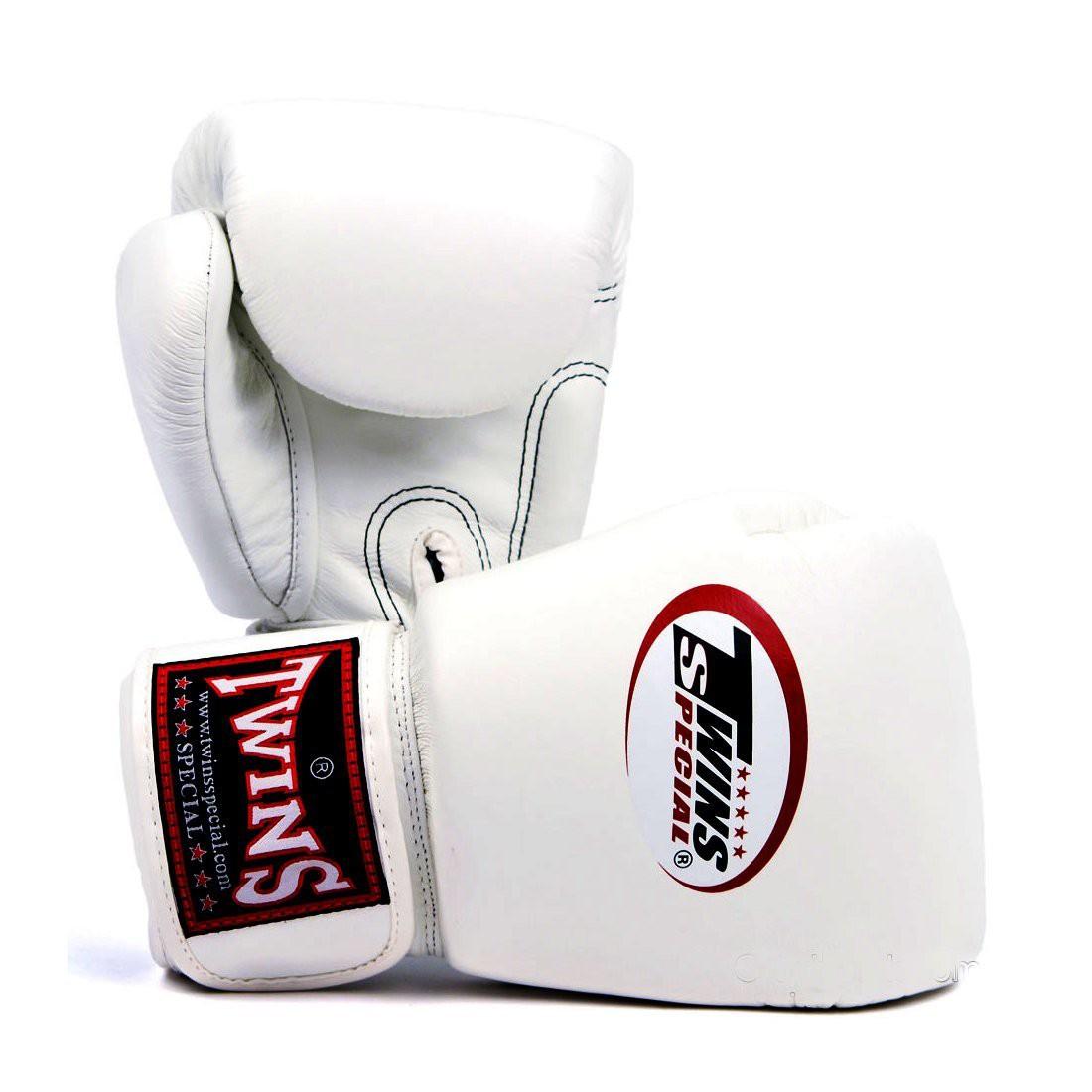 Gants de boxe Twins blanc