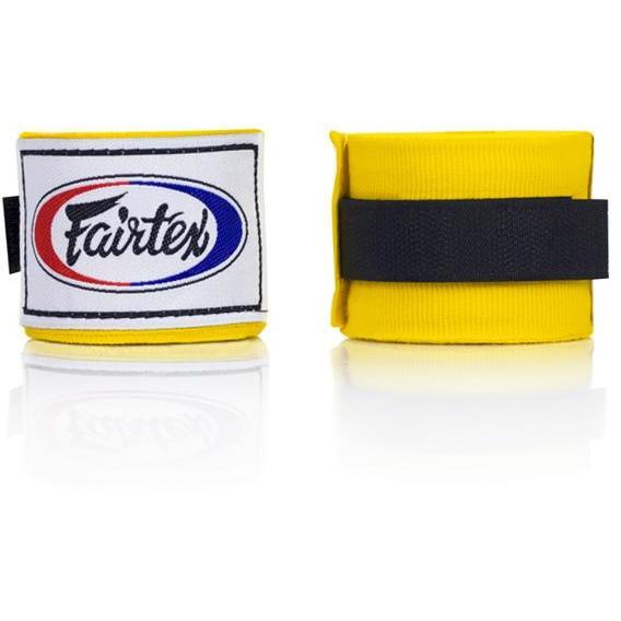 Bandes de boxe Fairtex Jaune