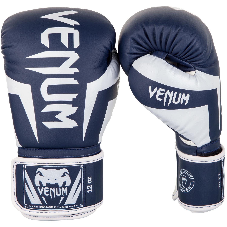 Gants de boxe Venum elite Bleu