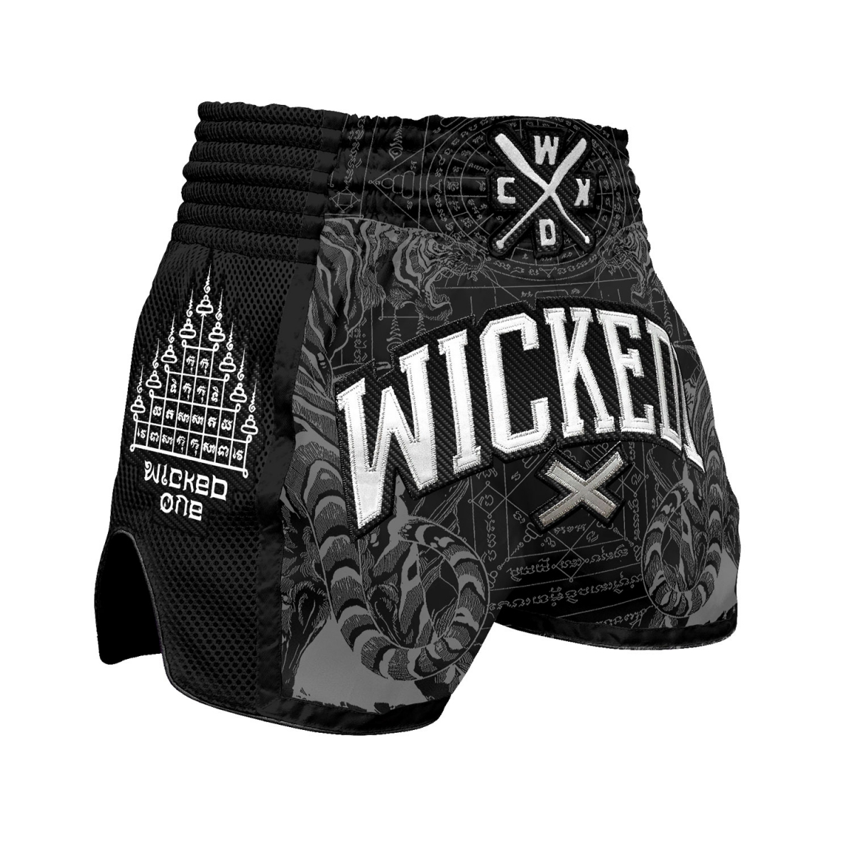 Short Wicked one Tiger Noir