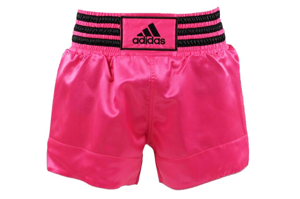 Short de boxe Thaï Rose Adidas