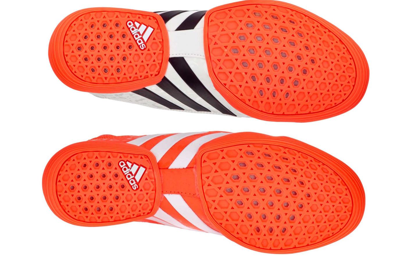 Chaussure Taekwondo Adidas Rio Rouge