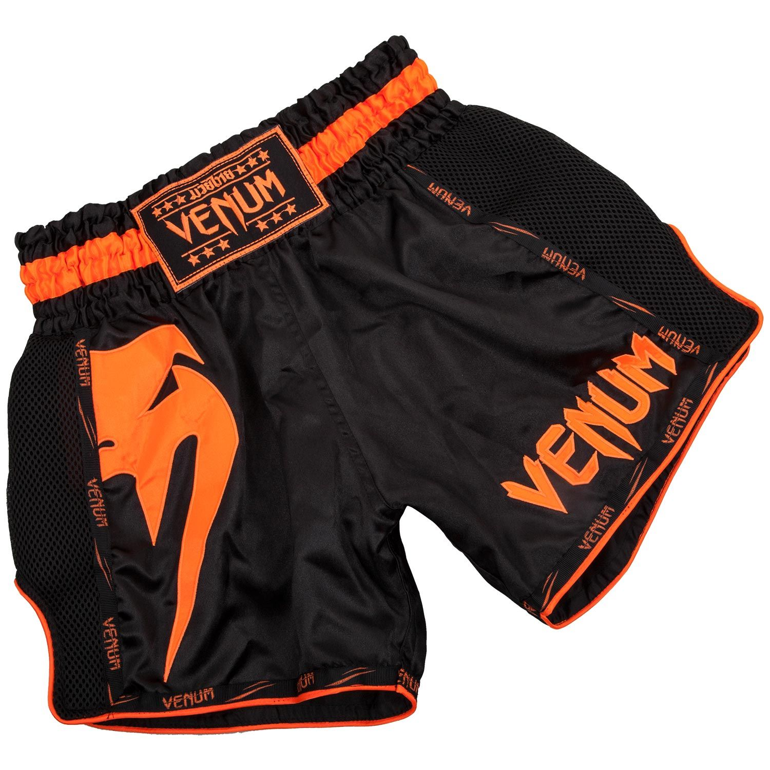Short Venum Giant Noir et Orange