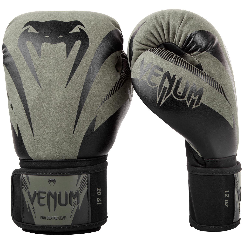 Gants de boxe impact Kaki