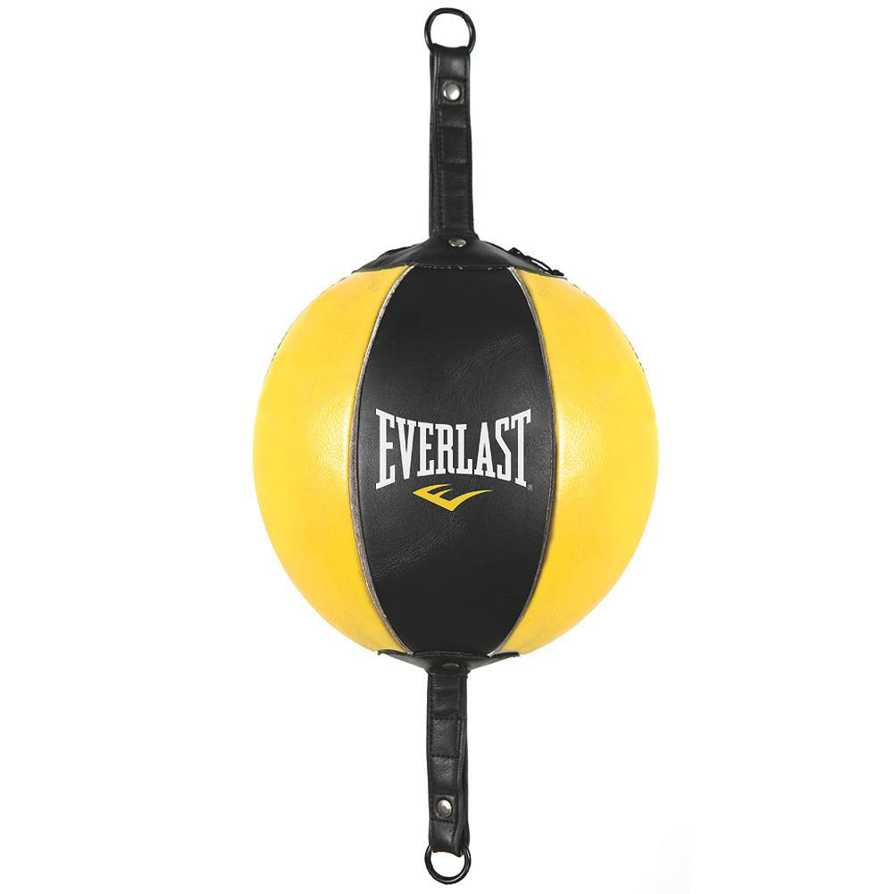 Ballon double élastique Everlast en cuir
