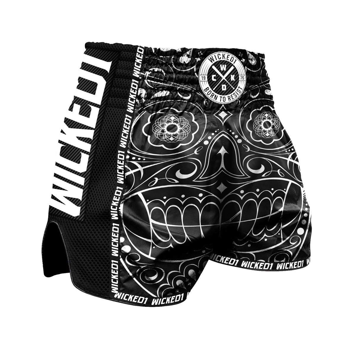 Short Wicked one skull