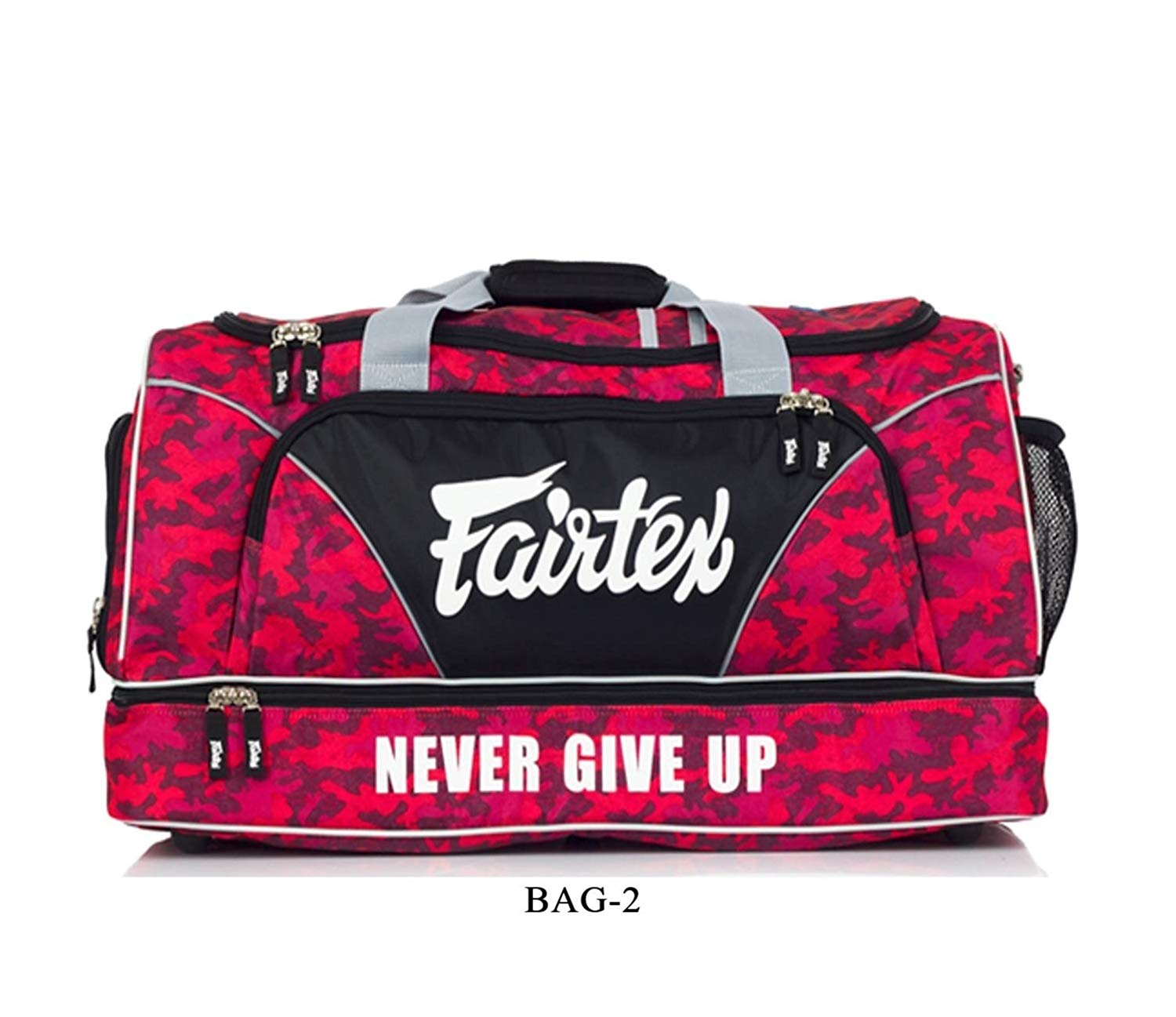 Sac de sport Fairtex Rouge camo