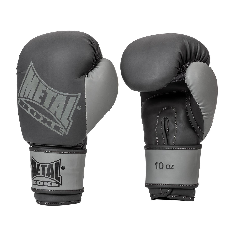 Gants de boxe Métal boxe Iron Noir Gris