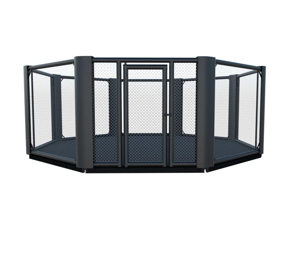 Cage de MMA training avec podium de 10 cm