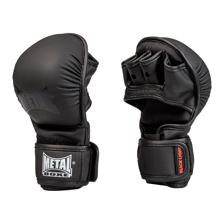 Gants de MMA entraînement Métal boxe