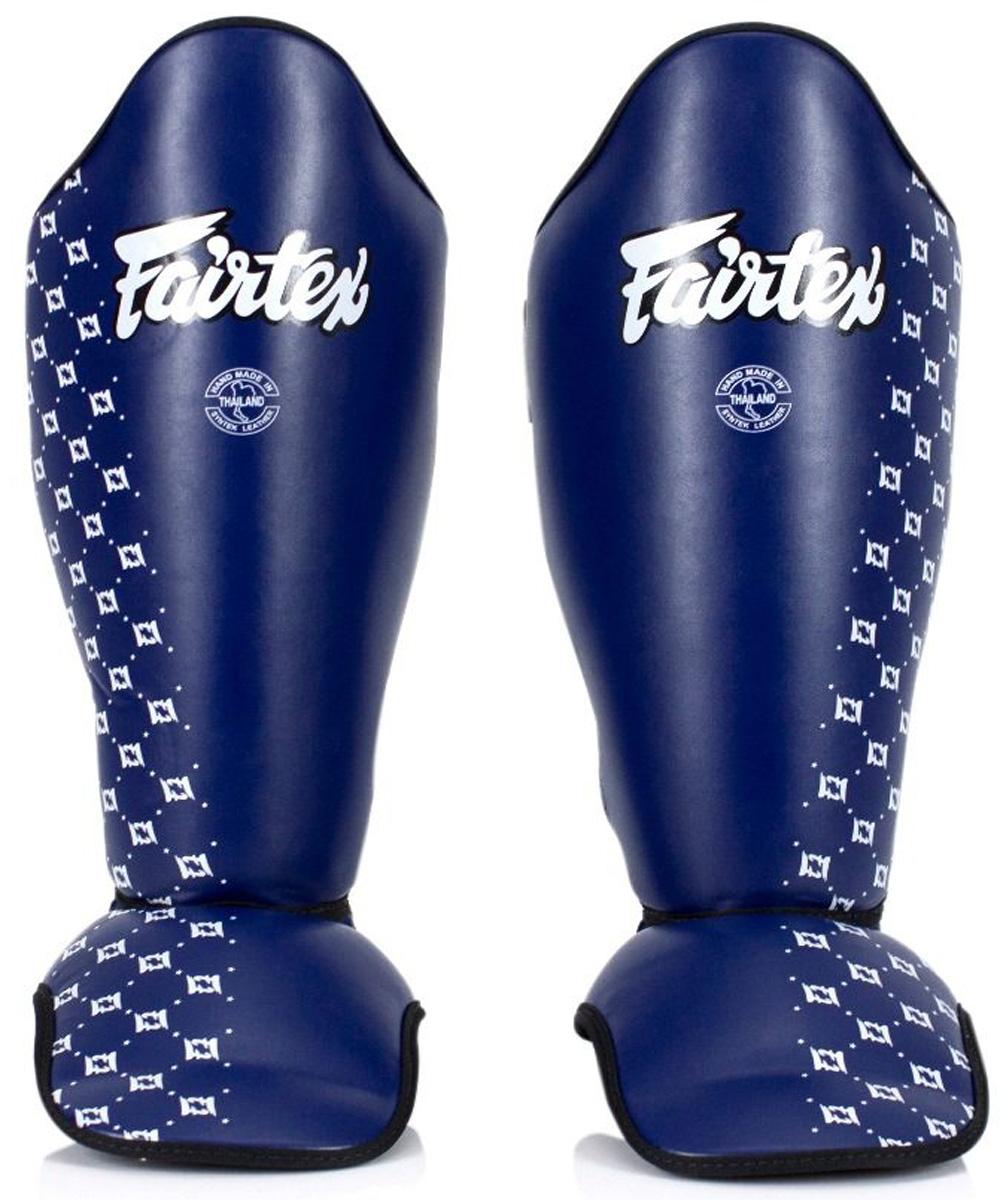 Protège tibias Fairtex Bleu