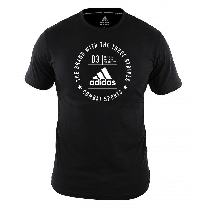 T-shirt Adidas community Noir et Blanc