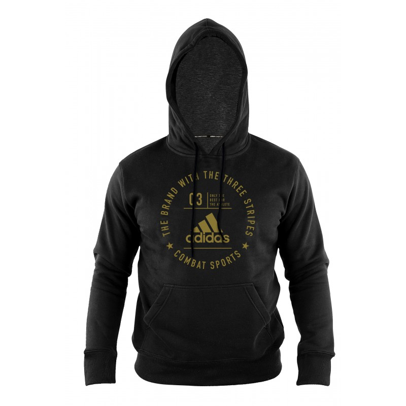 Sweat Adidas community Noir et Or