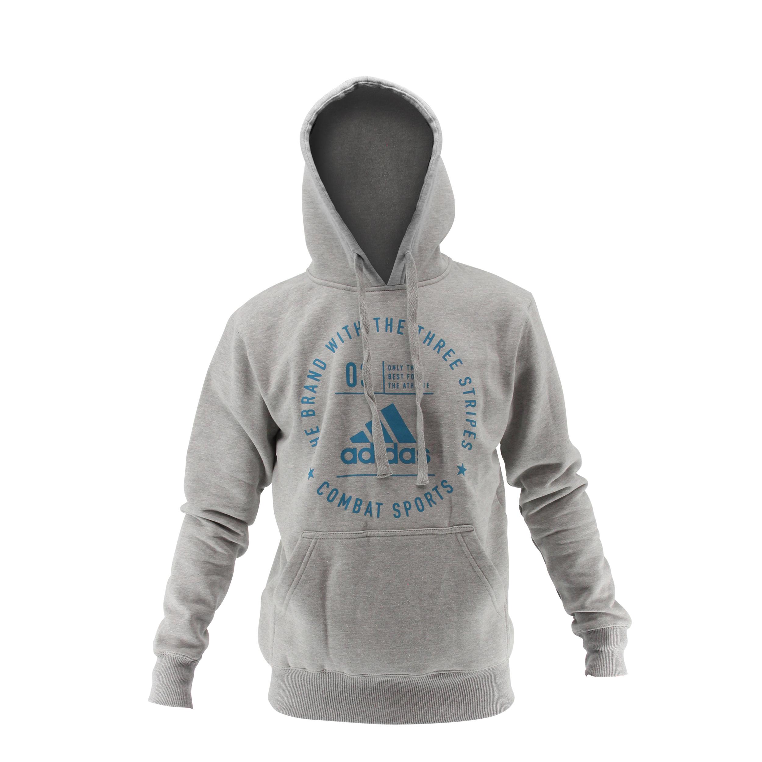 Sweat Adidas Community Gris et Bleu