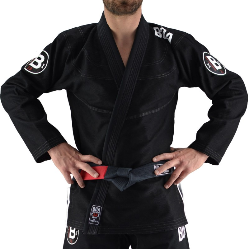 Kimono JJB Bõa Armor de Competição Noir 3.0
