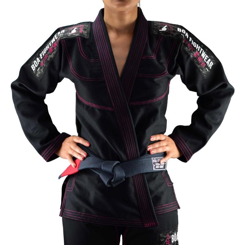 Kimono JJB Bõa Femme Treinado 3.0 Noir