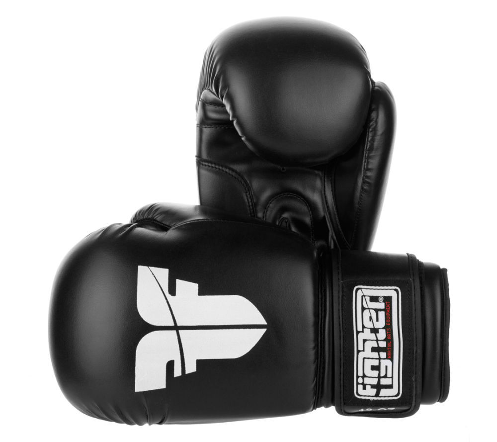 Gants de boxe Fighter Basic Noir