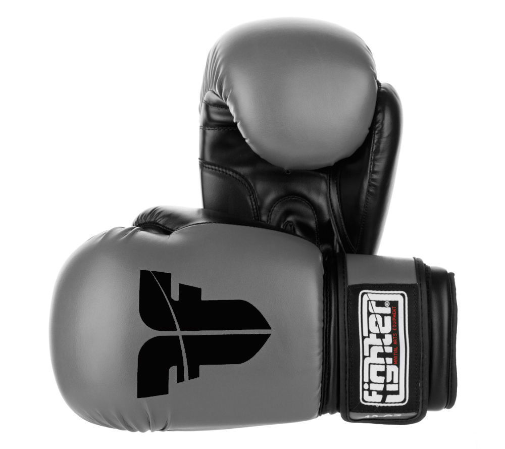 Gants de boxe Fighter basic Bleu