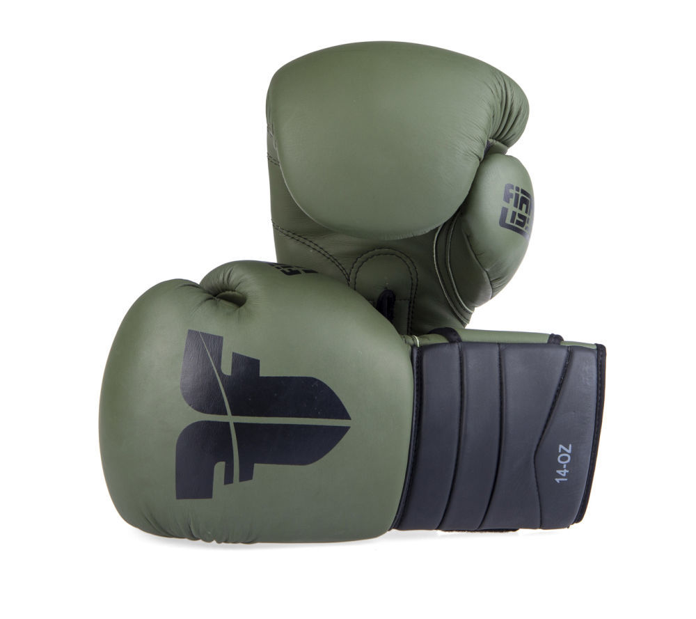Gants de boxe sparring Fighter en cuir